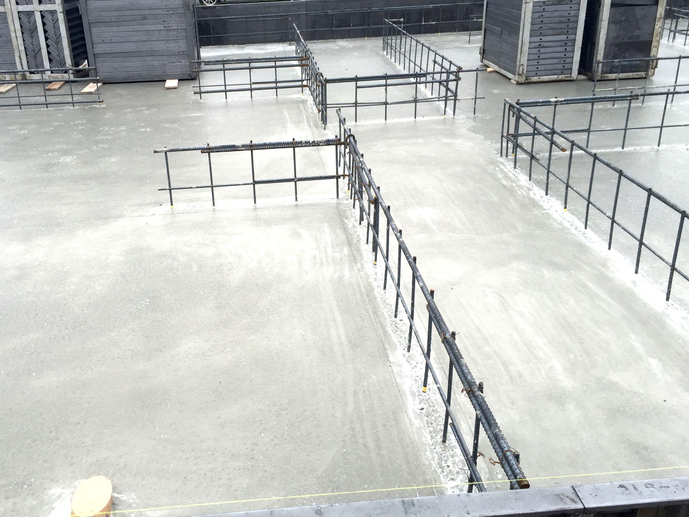 鉄筋コンクリート住宅建築現場1