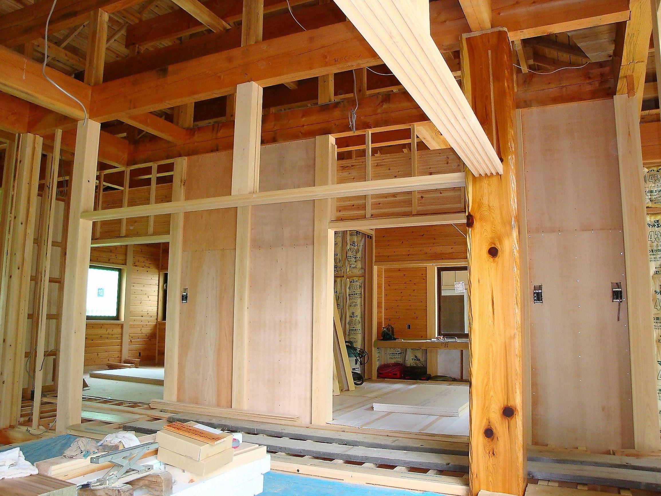 木造住宅建築現場2