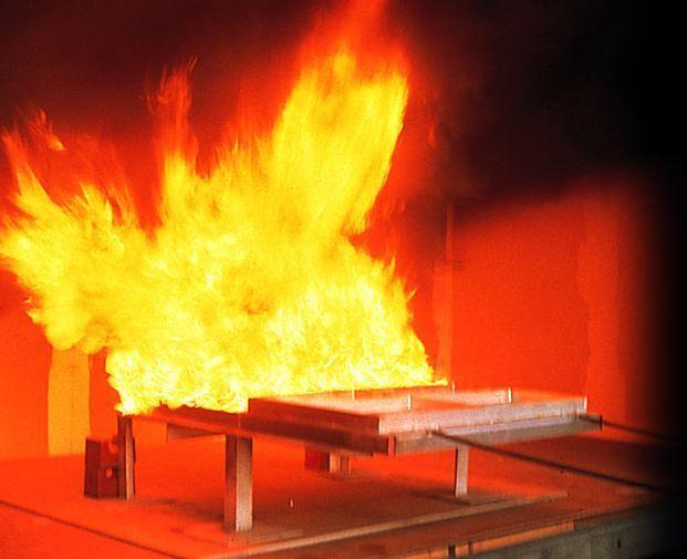 外壁防火試験2