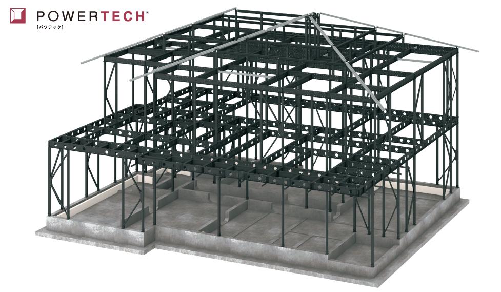 制震鉄骨軸組み構造