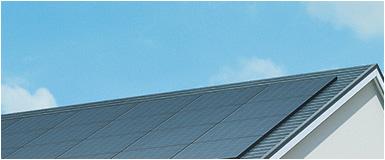 屋根据え置き型太陽光パネル