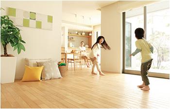 エネファームを利用した床暖房