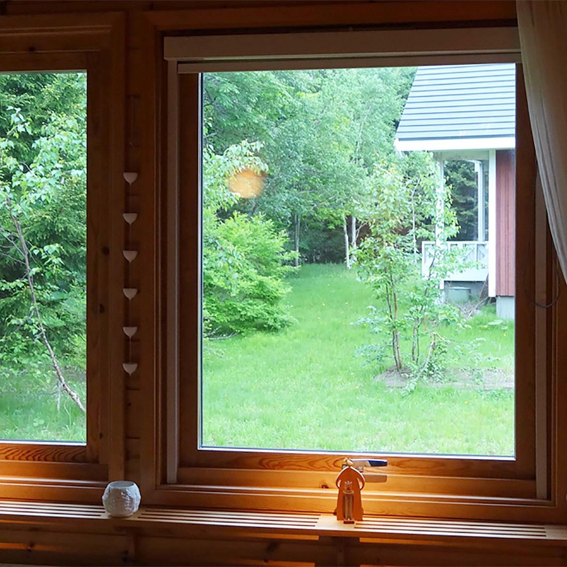 スウェーデンハウスの窓