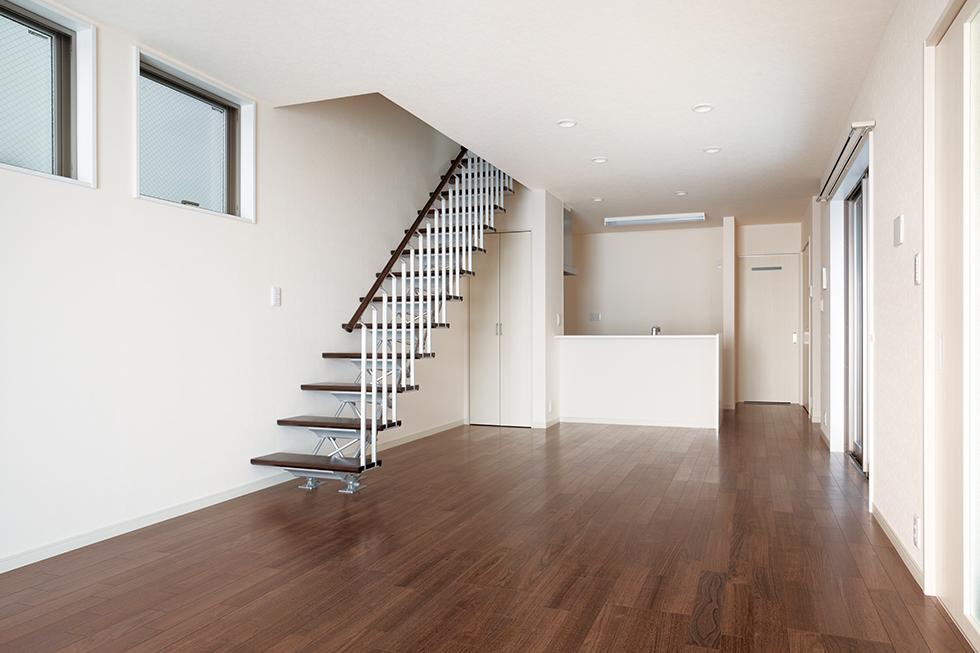 ミサワホームの家の階段