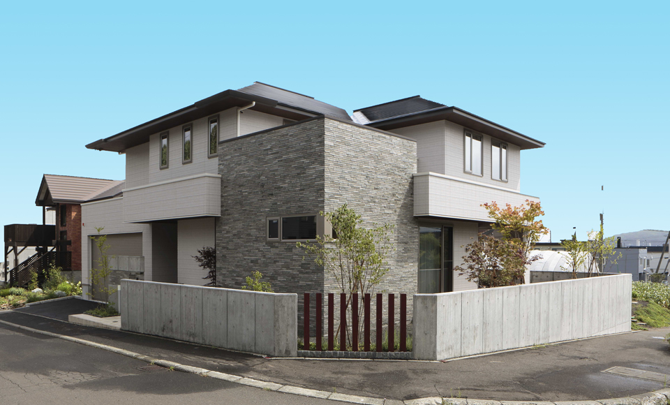 積水ハウスの家の外観1