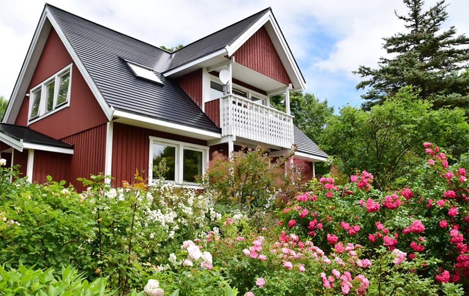 スウェーデンハウスの家の一例
