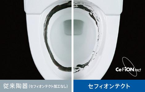 TOTO製のトイレの特徴1