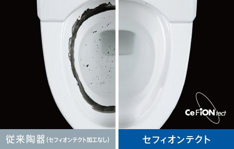 TOTO製のトイレの特徴2