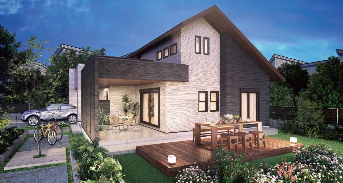 桧家住宅の家一例